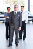 Sales staff dealership Stock Photography