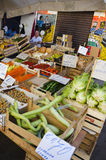 Sales Stall, Sicily Stock Photo