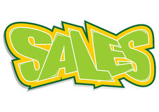 Sales sticker Royalty Free Stock Images