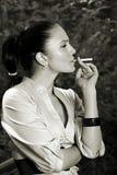 Sales Stress & smoking glamour Stock Photo