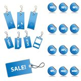 Sales Tags Royalty Free Stock Image
