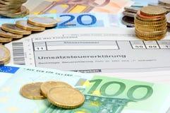 Sales Tax Return Stock Images