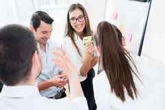Sales Team at business meeting in office planning Royalty Free Stock Photography