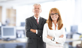 Sales team portrait Royalty Free Stock Images