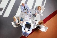 Sales team at work Royalty Free Stock Image