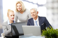 Sales team working Stock Photography