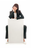 Sales Woman Stock Photography