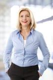Sales woman portrait Royalty Free Stock Image