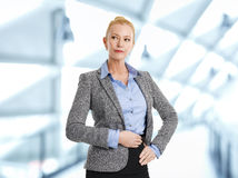Sales woman portrait Royalty Free Stock Photo