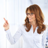Sales woman portrait Royalty Free Stock Photography