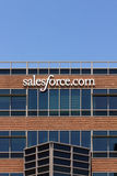 Salesforce.com Corporate Headquarters Royalty Free Stock Images