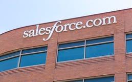 Salesforce het Collectieve Hoofdkwartier van Com Royalty-vrije Stock Afbeeldingen