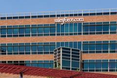 Salesforce jefaturas corporativas de COM fotografía de archivo