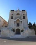 Salesian Church of Jesus in Nazareth, Israel Stock Image