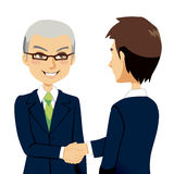 Salesman Handshake Stock Photos