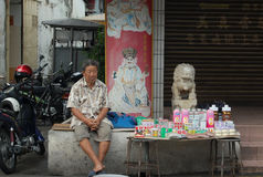 Salesman in Malaysia Stock Photos