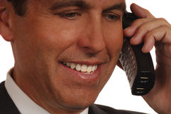 Salesman On Phone Stock Images