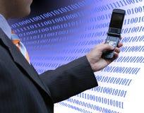 Salesman programming Stock Images
