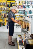 Salesman Working In Hardware Store Stock Image