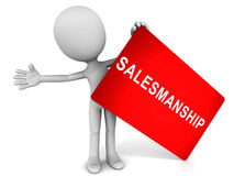 Salesmanship Royalty Free Stock Photography
