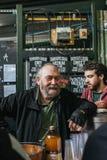 Salesmen in Borough Market Royalty Free Stock Image