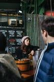 Salesmen in Borough Market Stock Photos