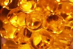 Saleté en cristal jaune Image libre de droits