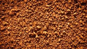 Saleté rouge Image stock