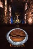 Salez la cathédrale, ¡ de ZipaquirÃ, Colombie - Catedral de Sal Photographie stock libre de droits