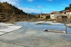 Salez la vallée d'Anana, dans Alava, l'Espagne photo libre de droits