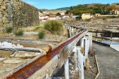 Salez la vallée d'Anana, dans Alava, l'Espagne image libre de droits