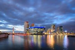 Salford kajer Manchester, England UK Royaltyfri Foto