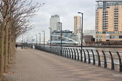 Salford, Manchester Royalty Free Stock Images