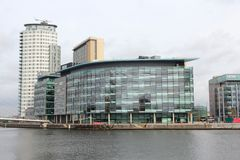 Salford Mediacity Royalty Free Stock Images