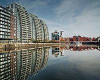 Salford Quays Stock Photography