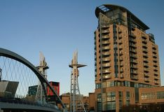 Salford Quays Royalty Free Stock Image