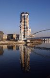 salford quays obrazy royalty free