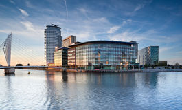 Salford Quays Obraz Royalty Free