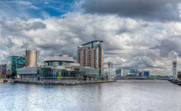 Salford Quays Royalty Free Stock Photography