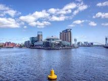 Salford Quays zdjęcie stock