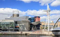 Salford Quays, Manchester, England. Royalty Free Stock Photography