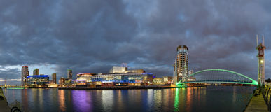 Salford Quays,Greater Manchester, England Stock Image