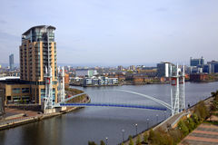 Free Salford Quays In Manchester Stock Images - 14001414