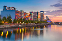 Salford Quays Royalty Free Stock Photo