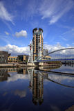 Salford Quays in Manchester stock images