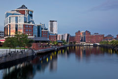 Salford Quays Manchester Royalty Free Stock Images