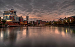 Salford Quays in Manchester Stock Photo