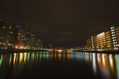 Salford Quays, Manchester. Salford Quays manchester media city Stock Image