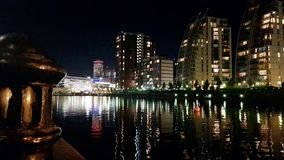Salford quays royalty free stock images