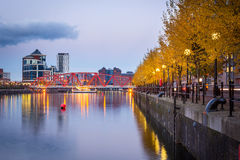 Salford Quays, Manchester, England Royalty Free Stock Photo